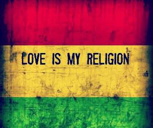 love, reggae, and religion image