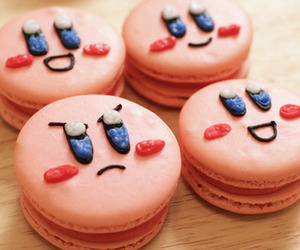macaroons, food, and kirby image