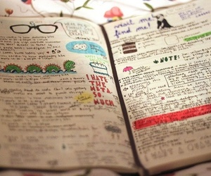 diary, book, and notebook image