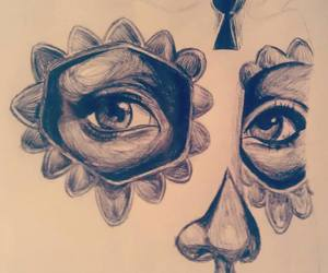 art, bic, and black image