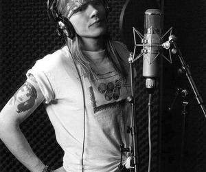 80s, axl rose, and blonde image