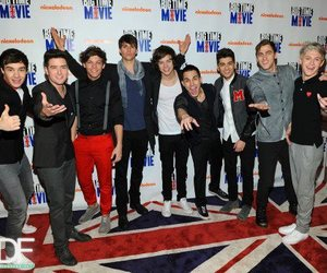one direction, big time rush, and 1d image