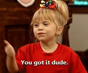 dude, full house, and olsen image