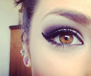 eyes, make up, and makeup image