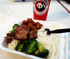 chinese food, LAX, and los angeles image