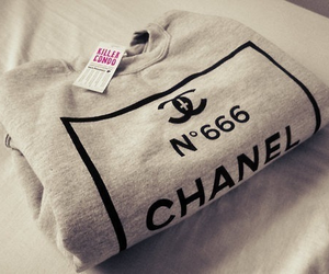 chanel, fashion, and sweater image
