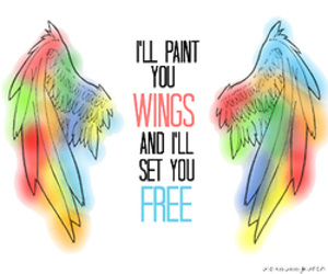 wings, all time low, and free image