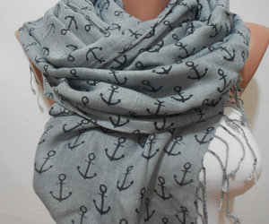 anchor, scarf, and scarves image