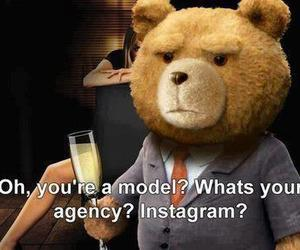 TED, instagram, and model image