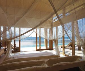 beach, holiday, and interior image