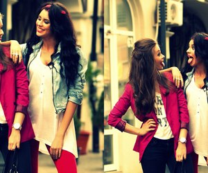 best friends, crazy, and fashion image