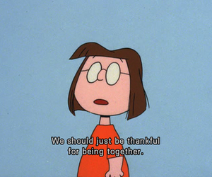 charlie brown, quote, and together image
