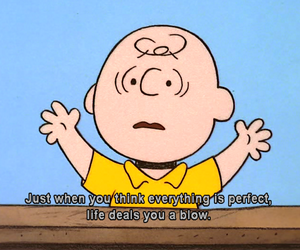 :(, charlie brown, and quote image