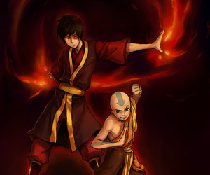 avatar, zuko, and the leyend of aang image