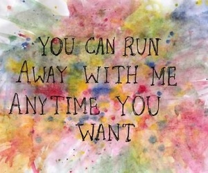 quote, text, and run image