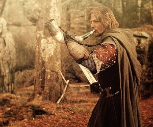 boromir, LOTR, and lord of the rings image