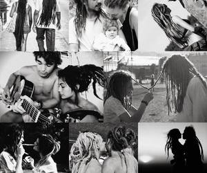 rasta, love, and couple image