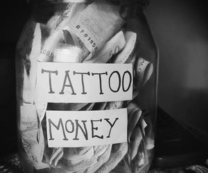 tattoo and money image