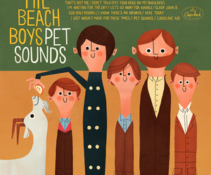 beach boys, the beach boys, and pet sounds image