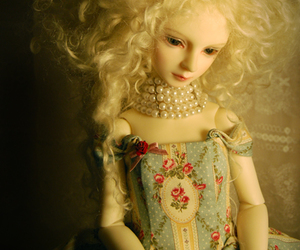 bjd, doll, and pearl image
