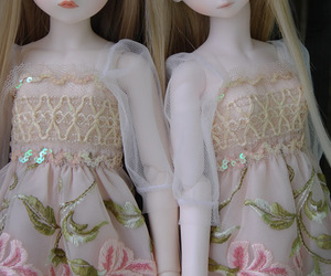 bjd, cute, and blonde image
