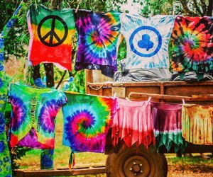 hippie, peace, and shirt image