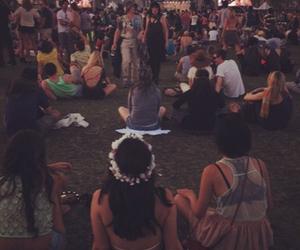 hippie, vintage, and festival image