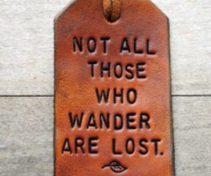 quotes, wander, and lost image