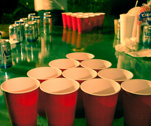beer, red, and cups image