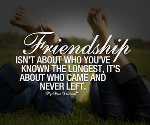 friendship, quote, and love image