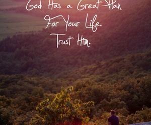 god, life, and plan image
