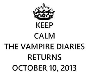 keep calm, elena gilbert, and tvd image