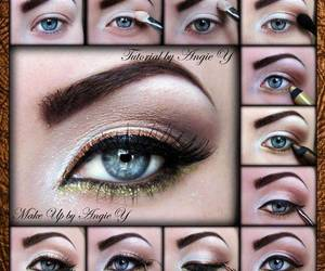 makeup eyes tutorial image