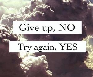 give up, no, and yes image