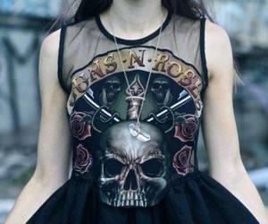 Guns N Roses, dress, and rock image