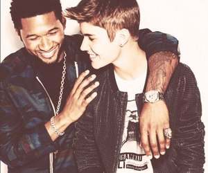 justin bieber, usher, and sexy image