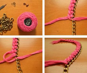 like, necklace, and tutorial image