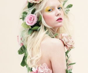 blondie, flowers, and girl image