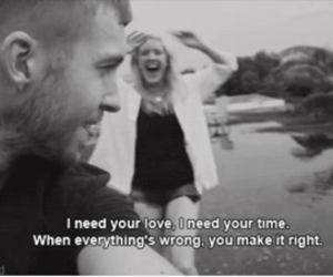 love, calvin harris, and Ellie Goulding image