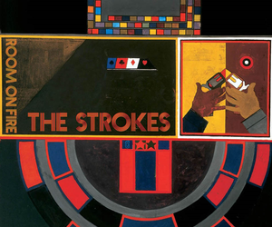 the strokes and room on fire image