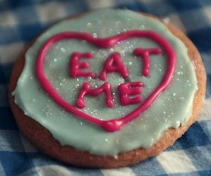 cookie, eat me, and food image