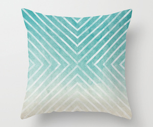 blues, pattern, and pillow image