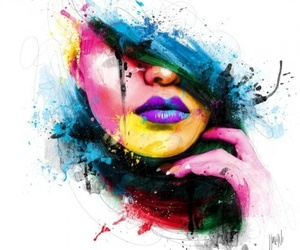 art, colorful, and drawing image