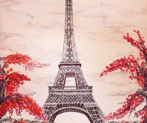 amazing, draw, and eiffel tower image