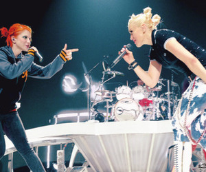 hayley williams, gwen stefani, and paramore image