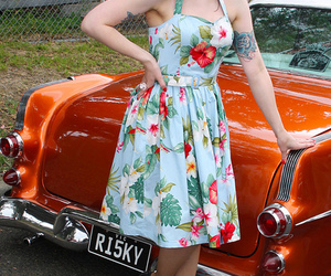 rockabilly, pin up model, and miss lydia licorice image