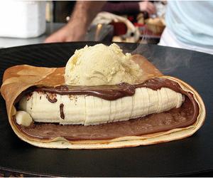 bake, banana, and food image