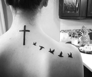 b&w, birds, and black and white image