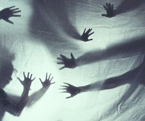hands, photography, and shadow image