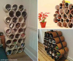creative, shoe rack, and storage image